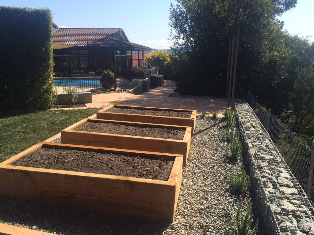 dust to lawn canberra garden beds decks pergolas On landscaping rocks canberra